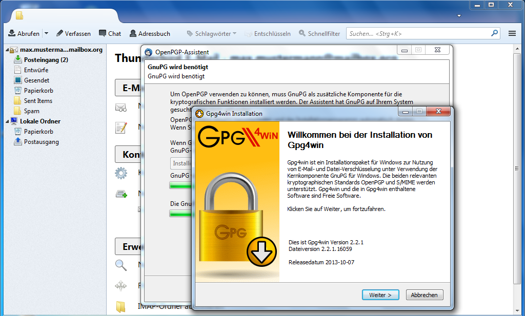 Install Ggp4win for Windows