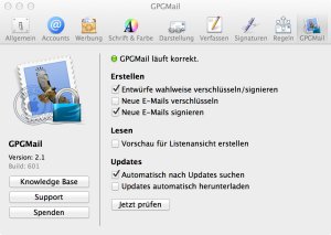 GPGMail for MacOS